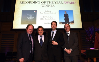 Leif Ove Andsnes wins Recording of the Year at BBC Music Magazine Awards