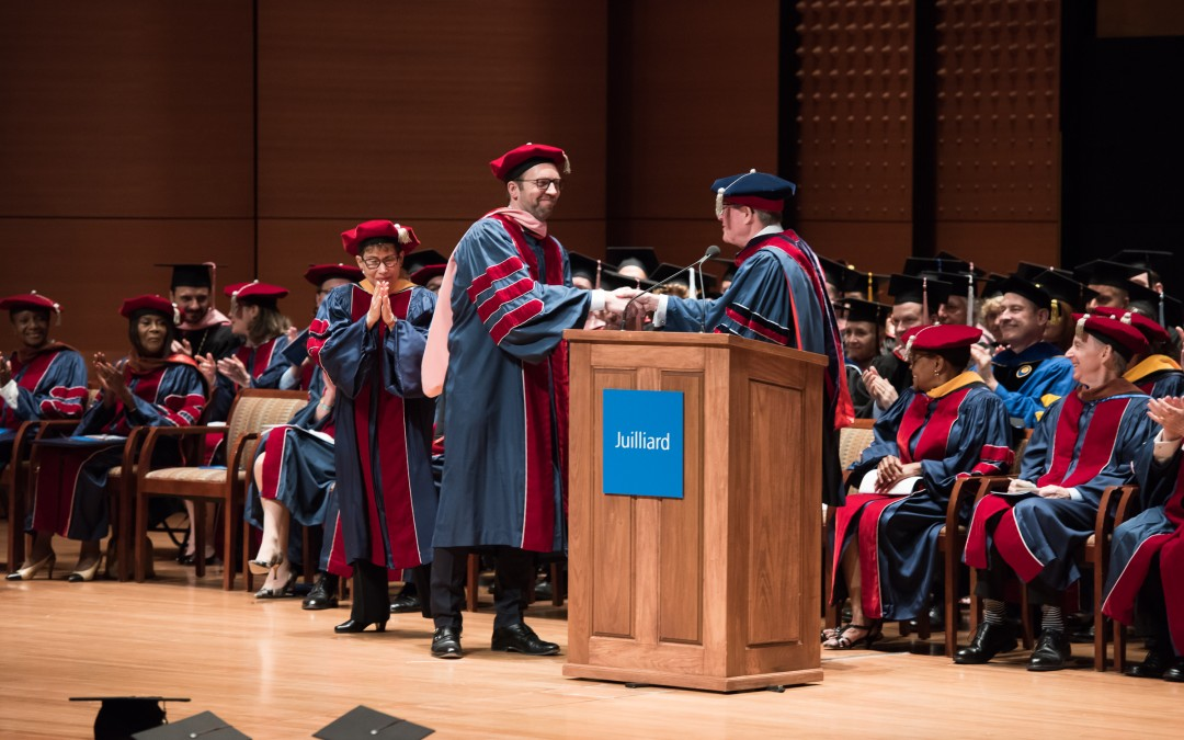 Leif Ove Andsnes receives Honorary Doctorate from The Juilliard School
