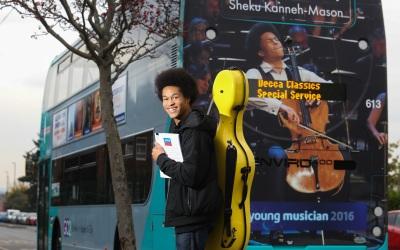 Sheku Kanneh-Mason Signs to Decca Classics