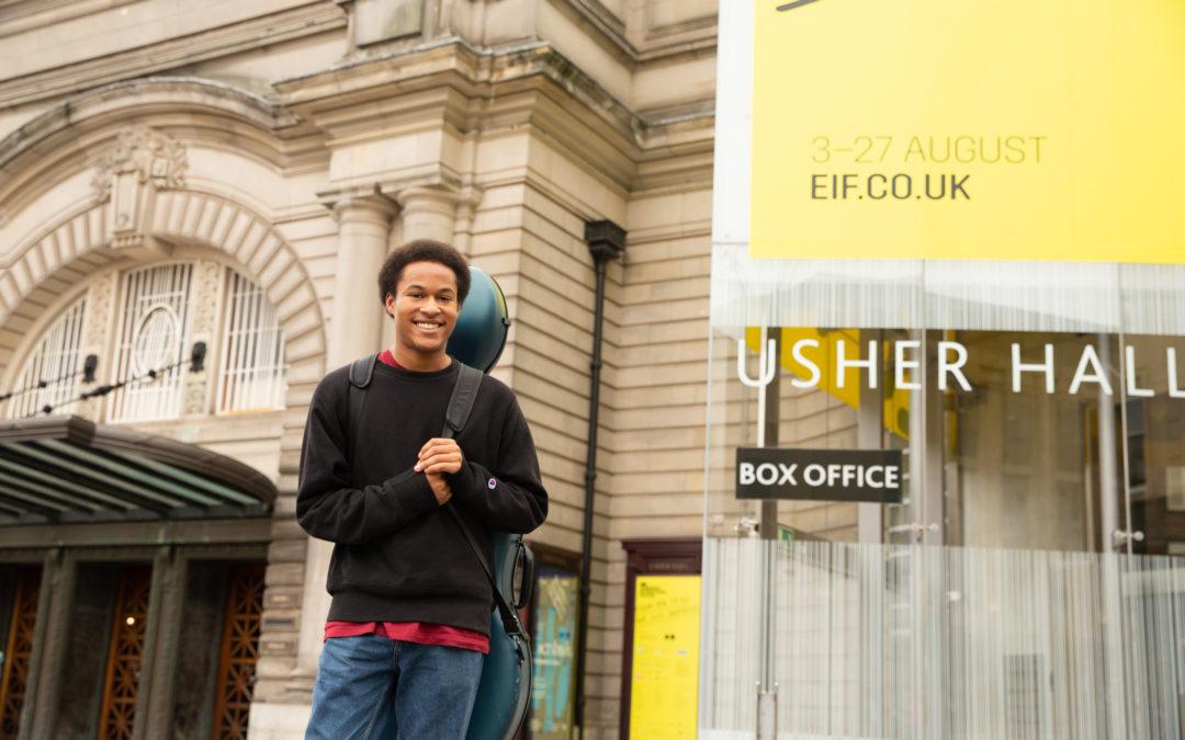 Sheku Kanneh-Mason receives first Brit Certified Breakthrough Award