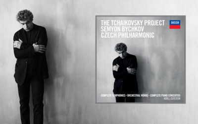 "Music Director Semyon Bychkov and Czech Philharmonic's seven-disc recording collection ""The Tchaikovsky Project"" to be released on Decca Classics on 30 August"