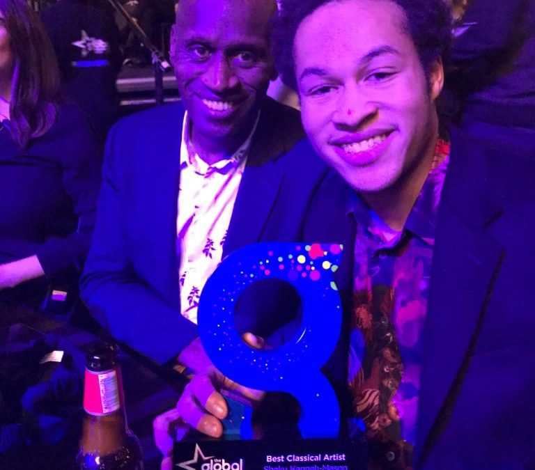 Sheku wins Best Classical Artist at The Global Awards 2020