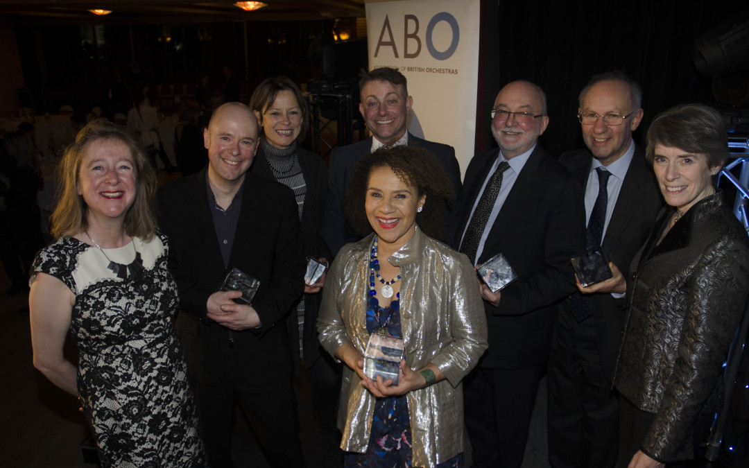 Kathryn Enticott wins the Association of British Orchestras' 2017 Artist Manager of the Year award