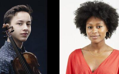 Isata & Johan feature as 21/22 ECHO Rising Stars